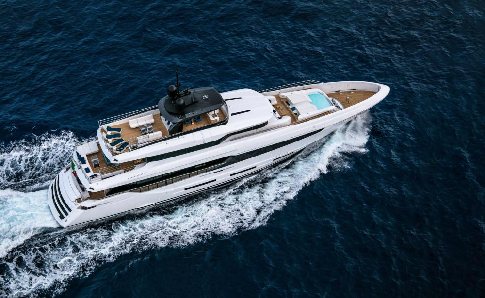 Mangusta Oceano 42 Superyacht