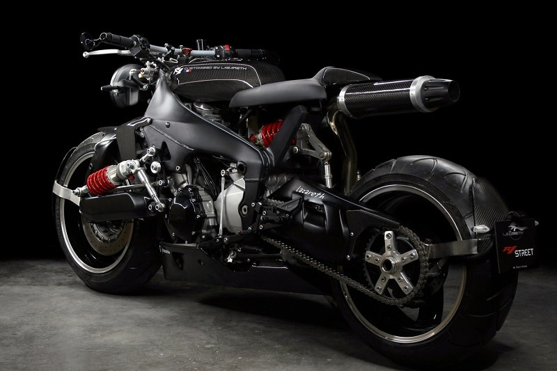 """Yamaha YZF R1 """"Back to the Future"""" By Lazareth"""