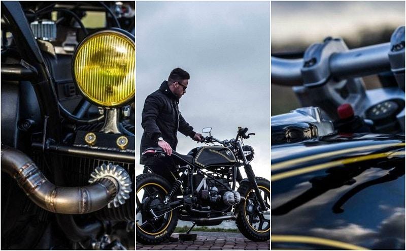 IWC BMW R65 Riot Starter Motorcycle