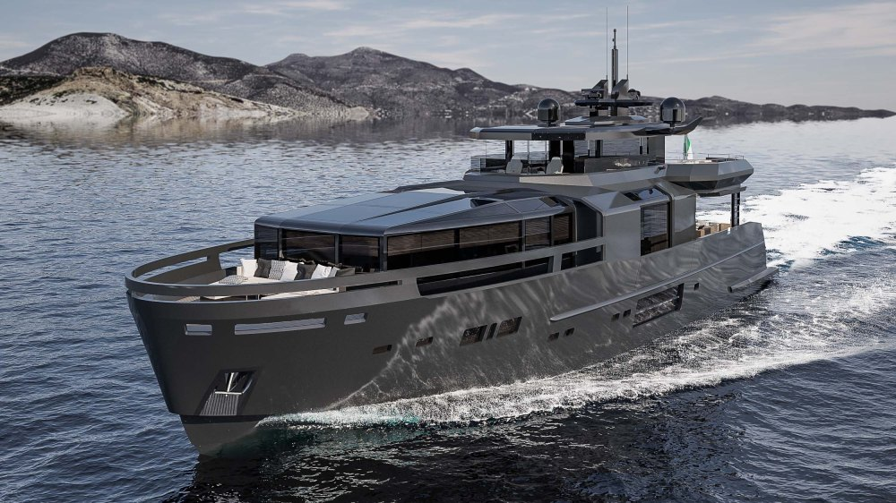 Eco Friendly Arcadia A100 Yacht Is Stunning