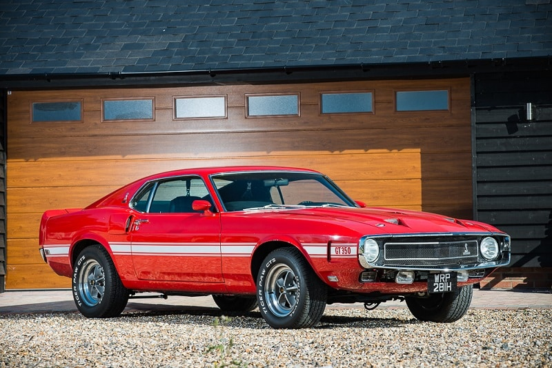 This 1969 Ford Shelby Mustang Gt350 To Be Sold By Silverstone Auctions