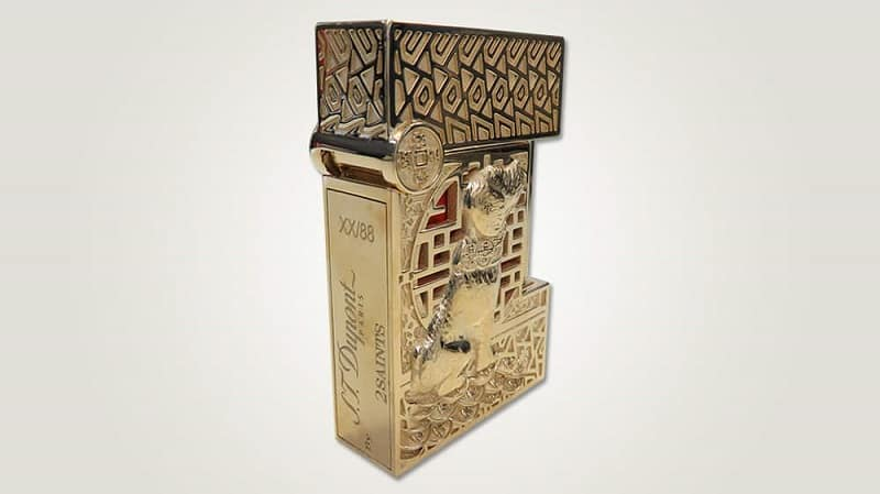 S.T. Dupont's Year of the Dog Pen and Lighter