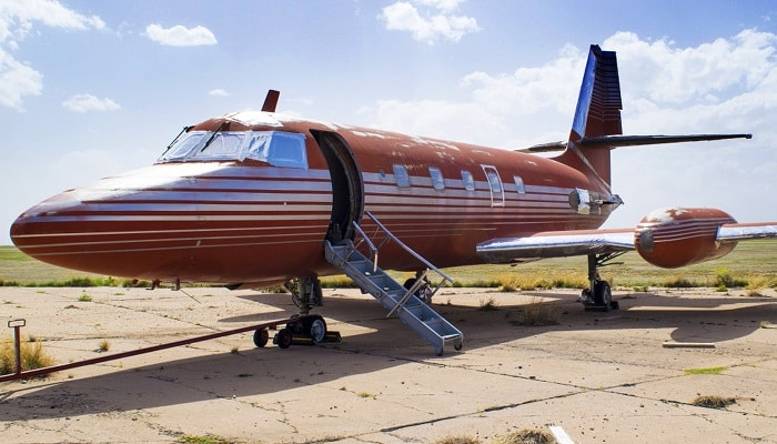 Elvis Presley's private plane
