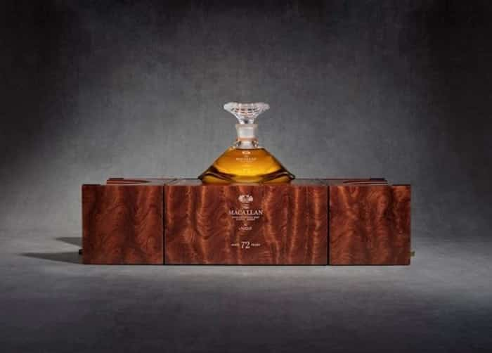 Macallan 72 Years Old In Lalique Whiskey