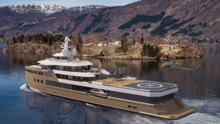 Damen SeaXplorer77 Yacht