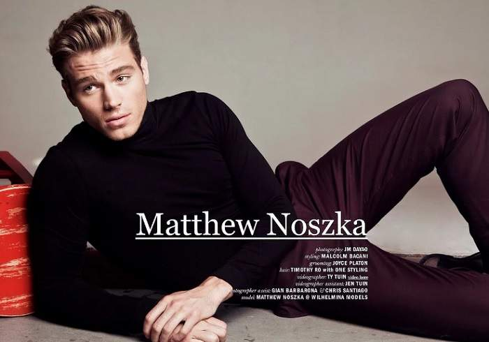 The Success Story of Matthew Noszka - American Actor and Model