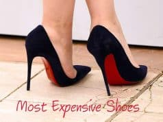 Most Expensive Women's Shoes