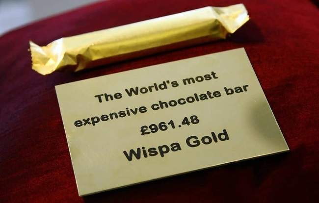 Wispa Gold Wrapped Chocolate