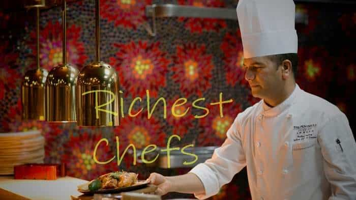 richest chefs