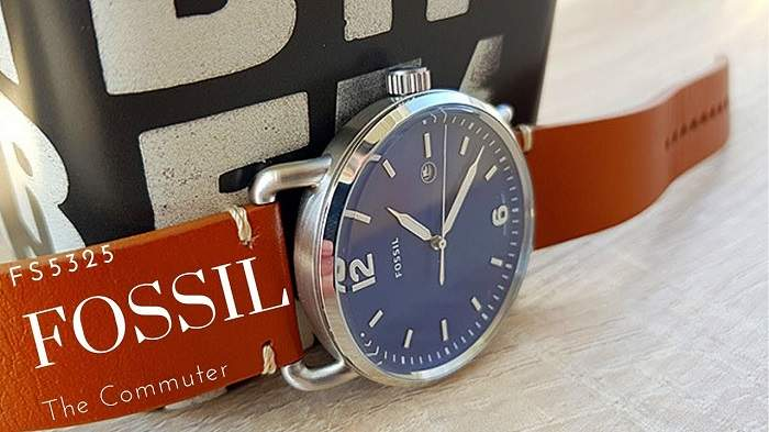 Fossil The Commuter FS5325 Watch Review