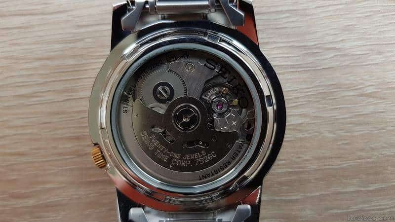 Japanese 7S26C automatic movement