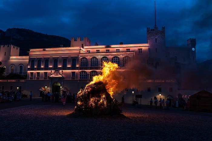 saint johns day bonfire